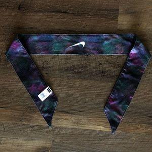 Multicolored Nike Tie Headband